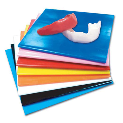 ".040"" Mouthguard Material 5""x5"", Pkg. of 300"