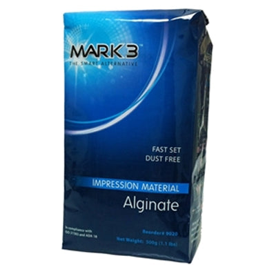 Alginate Dustfree Fast Set 1lb. Bag – MARK3