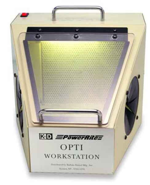 Opti Workstation without Suction, with Light 220V AC 36575