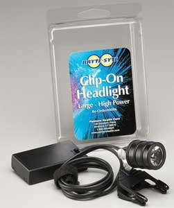 Clip-On Unit comes with battery pack - High Power