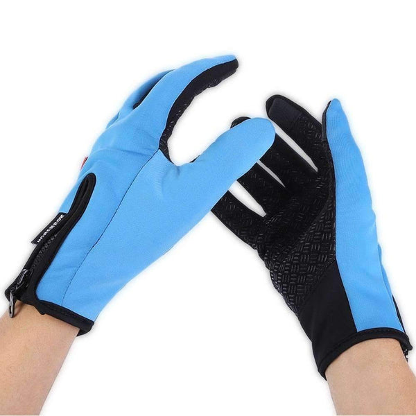 Soft Leather Cycling Gloves Unisex