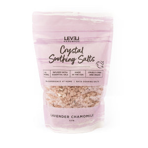 Lavender + Chamomile Crystal Soothing Bath Salts