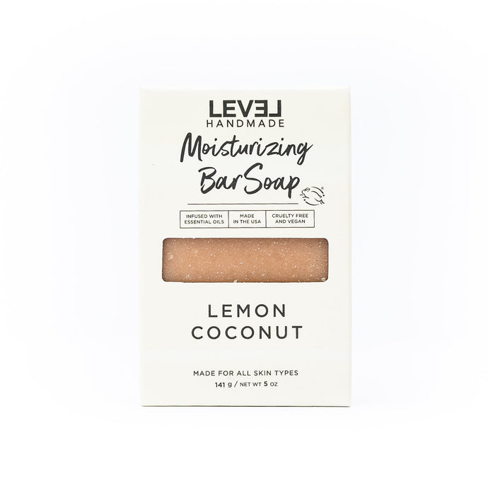 Moisturizing Bar Soap - Lemon Coconut