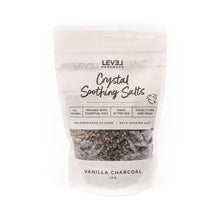Vanilla + Charcoal Crystal Soothing Bath Salts