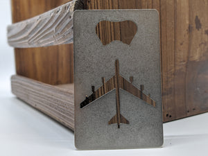 B-52 Credit Card Bottle Opener