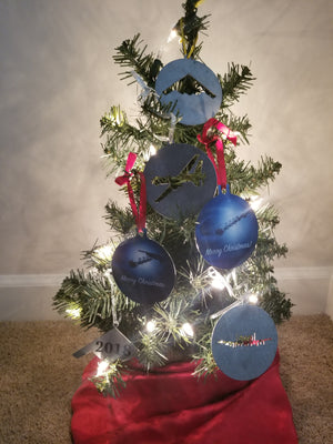 T-6 Texan II Christmas Ornament