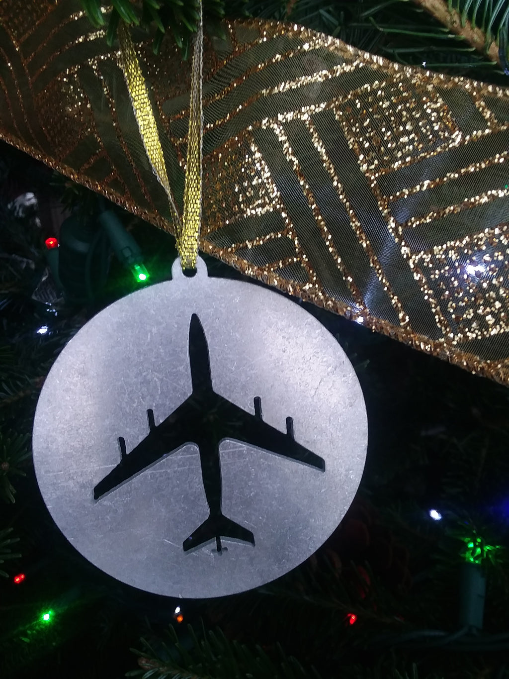 KC-135 Christmas Ornament