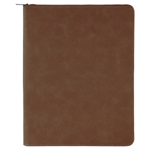 Leatherette Portfolio with Notepad 9.5 x 12