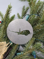 737 Airline Pilot Christmas Ornament
