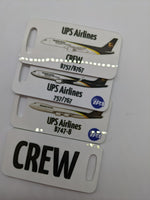 UPS Airlines Crew Luggage Tag