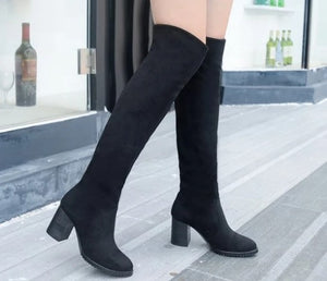 Petite Knee High Boots