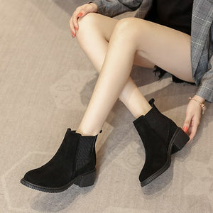 Ankle Booties For Small Feet Women BS367
