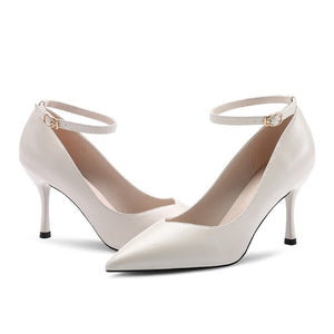 Ankle Strap Heels For Small Feet Ladies AP18