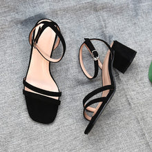 Block Heel Sandals For Petite Feet IRIS