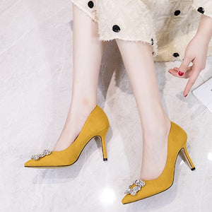 Pointed Dress Heels For Small Feet Ladies AP133