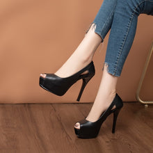 Peep Heels For Little Feet Women BS379