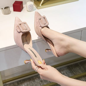 Slip On Heels For Petite Feet Girls BS306