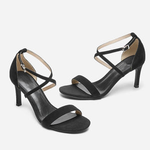 Strappy Heels For Small Size BS293
