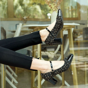 Mary Jane Heels For Petite Size BS286