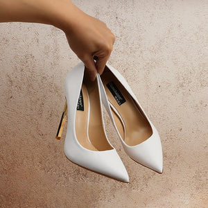 Small Size High Heel Pump Shoes DS76