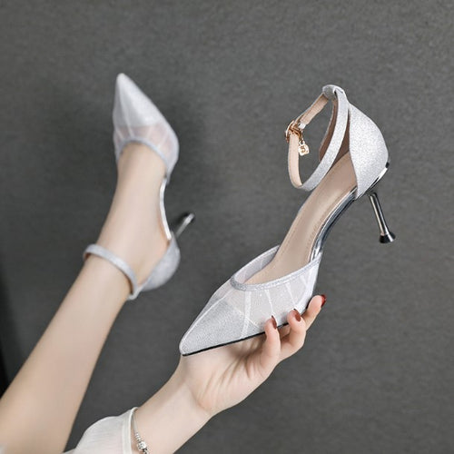 Ankle Strap High Heels  US1.5(eu31) For Sale