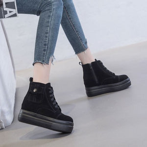 Ladies Small Size Height Increase Sneakers SS65