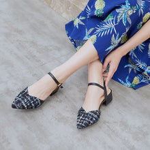 Low Heel Strap Sandals For Small Feet BS140