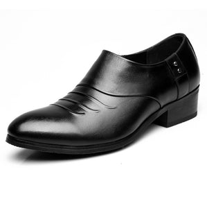 Men's Height Increase Small Size Dress Shoes MS38
