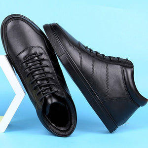 Men's Small Feet Lace Up Casual Shoes MS15