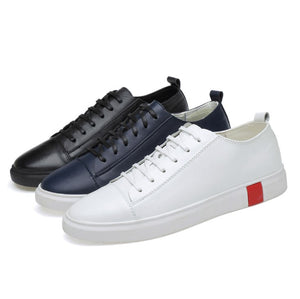 Men's Small Feet Leather Sneakers MS29