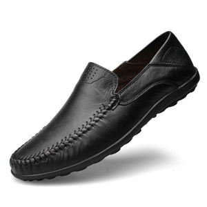 Men's Small Size Casual Leather Loafers MS25