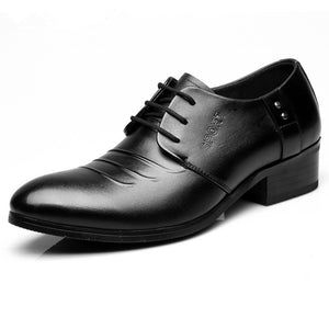 Men's Small Size Height Increase Dress Shoes MS52