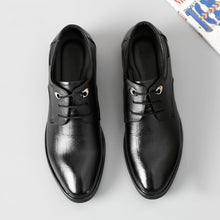 Men's Small Size Leather Dress Shoes MS53