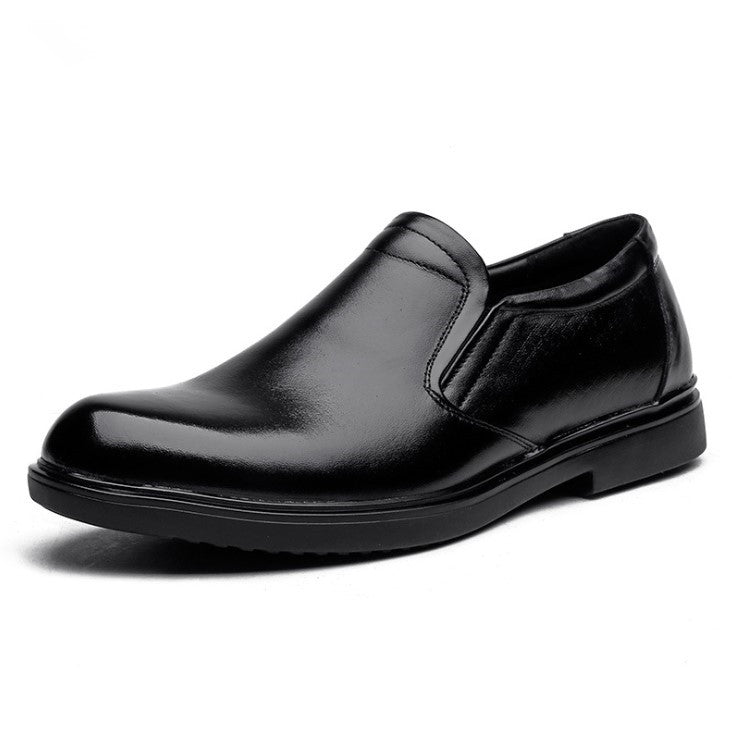 Men's Small Size  Slip On Dress Shoes MS37