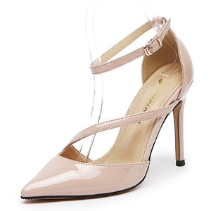 Patent High Heels For Small Feet DS116