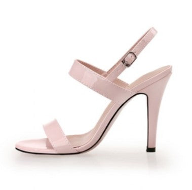 Patent Ankle Starp Sandals Sale US2(eu32)/US3(eu33)