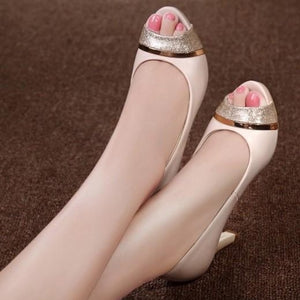 Peep Heel Pumps Sale US3(eu33)