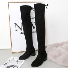 Petite Feet Wide Calf Extra Width Stretch Long Boots AS165
