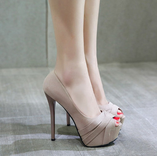 Petite Feet High Heel Pump Shoes BS168