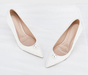Petite Heels Wedding Silk Satin Shoes DS89