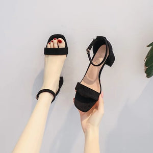 Petite Open Toe Shoes For Women BS375
