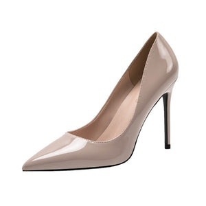 Petite Patent Heels Stilettos For Small Feet DS86
