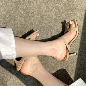 Petite Size Heeled Sandal Shoes DS99