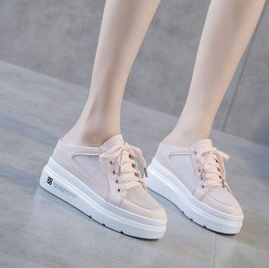 Petite Breathable Thick Sole Fashion Sneakers SS289
