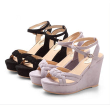 Petite Feet Ladies Small Size Wedge Sandals SS110