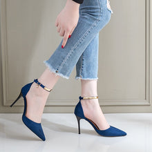 Petite Feet Pointy Ankle Strap Sandals BS59