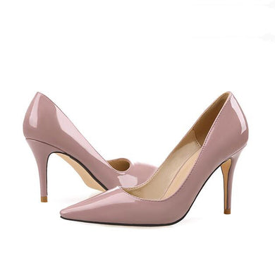 Petite Size Patent Heels For Small Feet SS391