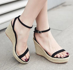 Platform Wedge Sandals Sale US4(EU34)