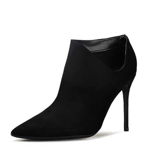 Pointed High Heel Ankle Boots DS26