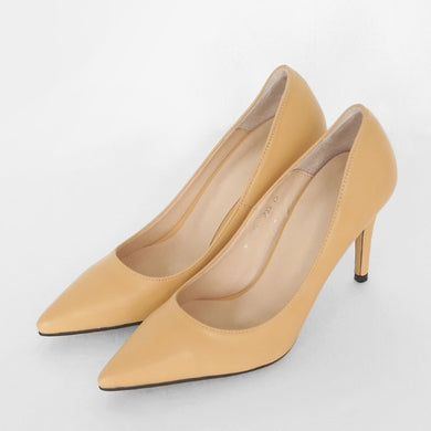 Pointy Heel Pumps Sale Tan US3(EU33)